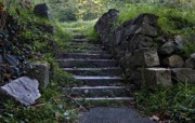 Stone Steps Art - Stairs to . . .      by Murray Bloom