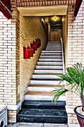 Stairway Print by Christopher Holmes