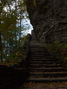 Watkins Glen State Park Prints - Stairway To Heaven Print by Joshua House
