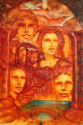 Visionary Paintings - Stairway to Heaven by Larkin Chollar