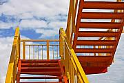 Skiphunt Acrylic Prints - Stairway to Heaven Acrylic Print by Skip Hunt