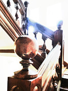 Balusters Metal Prints - Stairway to Heaven Metal Print by Steve Taylor