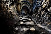 Stairway To Light Print by Denis Taraskin