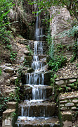 Southern Province Framed Prints - Stairway Waterfall Framed Print by Lorraine Devon Wilke