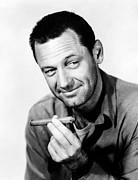 Smoking Book Prints - Stalag 17, William Holden, 1953 Print by Everett