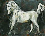 Arabian Horses Mixed Media - Stallion 1 by Denise Justice