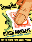 Conservation Digital Art - Stamp Out Black Markets by War Is Hell Store