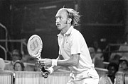 Tennis Player Metal Prints - Stan Smith Vollies Metal Print by Jan Faul