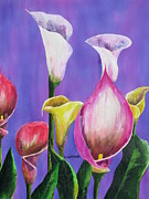 Calla Lilly Posters - Stand Up And Shout Poster by Dale Yarmuth