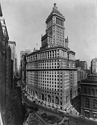 Broadway Photo Posters - Standard Oil Building At 26 Broadway Poster by Everett
