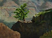 Canyon Paintings - Standing Alone by Linda Hiller