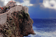 Dubrovnik Photos - Standing at the Edge of Time by Madeline Ellis
