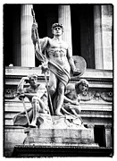 Sculpture For Sale Framed Prints - Standing Proud Framed Print by John Rizzuto