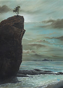 Hand Made Art - Standing Strong at La Push WA by Erik Johnson