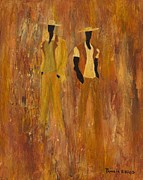 African-american Originals - Standing Strong by Pamela Hilliard