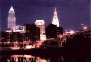 Cleveland Framed Prints - Standing Tall Framed Print by Kenneth Krolikowski