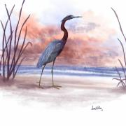 Beach Scenes Digital Art - Standing Tall by Sena Wilson