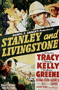 Livingstone Metal Prints - Stanley And Livingstone, Spencer Tracy Metal Print by Everett
