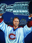 Canadiens Framed Prints - Stanley Cup - Champion Framed Print by Juergen Weiss