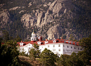 Rocky Mountains Prints - Stanley Hotel Estes Park Print by Marilyn Hunt