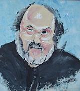 Kubrick Paintings - Stanley Kubrik by Daniel Johnson