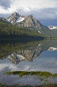 Scenic Idaho Prints - Stanley Lake Reflections Print by Idaho Scenic Images Linda Lantzy