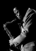 Stage Photo Originals - Stanley Turrentine 1980 Miami Jazz Festival by Arni Katz