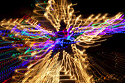 Illuminated Tapestries Textiles - Star abstract by Garry Gay