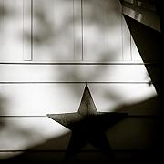 Sunlight Metal Prints - Star and Stripes Metal Print by David Bowman
