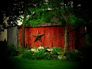 Star Barn Photos - Star Barn by Michael L Kimble
