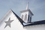 Star Barn Photos - Star Barn Roof by Craig Leaper 