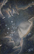 Star Pastels Metal Prints - Star Cluster NGC 602 Metal Print by Thomas Maynard