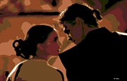 Skywalker Digital Art Posters - Star Crossed Lovers Poster by George Pedro