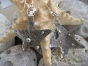 Metal Jewelry - Star Dust Earrings by Aliki Filis
