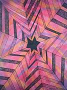 Industrial Pastels Prints - Star Gazer Two Print by Richard Van Order