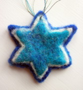 Holidays Tapestries - Textiles - Star of David by Kimberly Simon
