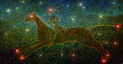 Constellations Digital Art Posters - Star Rider Poster by David Lee Thompson