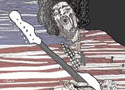 Star Spangled Banner Print by David Fossaceca