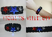 Stars Jewelry - Star Spangled Survival Bracelet by Erika Hickman