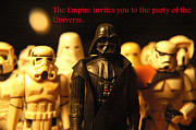 Party Invite Framed Prints - Star Wars Gang 5 Framed Print by Micah May