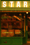 Coffee Shops Posters - Starbucks Coffee House Poster by Wingsdomain Art and Photography