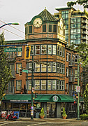 Stanley Street Framed Prints - Starbucks on Denman Framed Print by Diana Cox