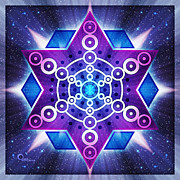 Healing Digital Art Posters - Starchild Poster by Soul Structures