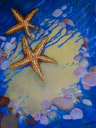 Stein Paintings - Starfish by Carla Stein