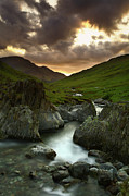 River Landscape Posters - Staring  At  Sun Poster by Brian Kerr Photography