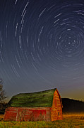 Star Barn Photos - Starry Night by Susan Candelario