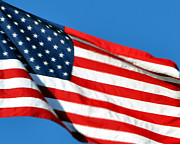 Al Powell Photography Usa Prints - Stars and Stripes Print by Al Powell Photography USA