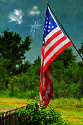 4th July Prints - Stars and Stripes Forever Print by Karen Slagle
