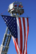 Flag Of Usa Photo Prints - Stars and Stripes Print by Karol  Livote