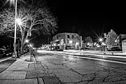 Long Street Framed Prints - Stars in the Village Framed Print by CJ Schmit